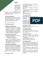 5) La Constitución Política
