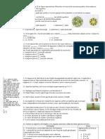 Ficha Biologia 10º - Distribuição Da Matéria Correção