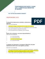 Act 18.Reconocimiento Unidad 6 Supply Chain Management y Logistica
