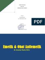 Farmakologi Obat Antiemetik OK 1
