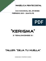 APUNTE KERIGMA - Impresión Dactilar.docx