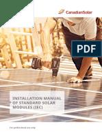 Installation Manual of Standard Solar Modules IEC En