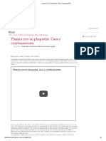 Plasma Rico en Plaquetas_ Usos y Combinaciones