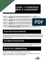 SCQF Level 11 SML Qual Factsheet New Nov 2015