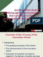 The Brazilian Innovation Award
