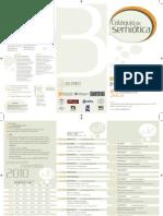 Folder 3° Colóquio de Semiótica da UERJ