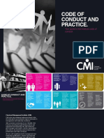CMI Code of Conduct and Practice 2014