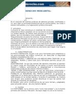 Derecho Mercantil Privado