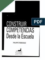Construir Competencias Perrenoud