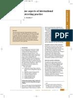 Some Aspects of International Shotcrete Practice