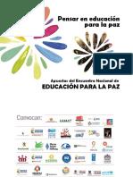 Memorias Encuentro Educacion Para La Paz (1)