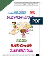 Caderno de Matematica Para Educaçao Infantil