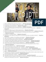 99 Greatest Quotes by Napoleon Bonaparte