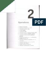 Operadores - Programação II