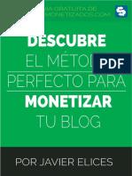 Metodo Perfecto Para Monetizar Tu Blog