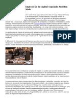 Las Empresas De Limpieza De la capital española Admiten Que El Servicio Es Malo