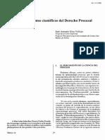 Los Fundamentos Científicos Del Derecho Procesal - Jose Anotnio Silva Vallejo