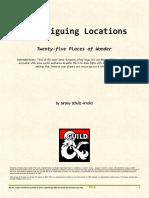 Twenty-five Intriguing Locations (10509812)