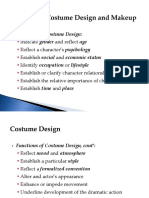 Diseño de Vestuario y Maquillaje