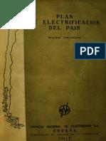 Plan de Electrificación de Chile mediante el proyecto de Corfo
