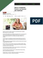 A Mulher Que Comprou a Empresa Dos Chefes Aos 18 Anos e Se Tornou a 'Rainha Dos Cereais Matinais' - Notícias - UOL Economia