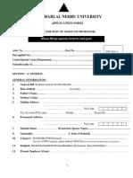 Application Form for AssistantProfessor (1)