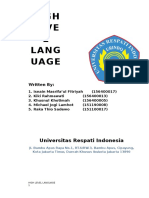 Paper of High Level Language