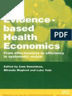 085-Evidence-Based Health Economics (Evidence-Based Medicine)-Miranda Mugford Luke Vale Cam Donal