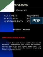Aspek Hukum.ppt