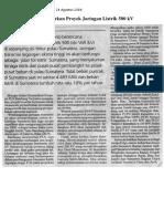 PLN Tenderkan Proyek Jaringan Listrik 500 KV