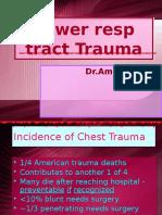 Lower Resp Trauma
