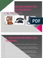analisis de productos tecnologicos