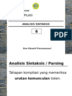 TEKSI 2015-2016 - [04] - Analisis Sintaksis (Parser)