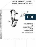 Resistencia Dos Materiais Escola Tecnica Federal de Sao Paulo