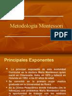 Método Montessori en Power-Point