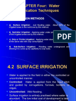 Chapter 4 Water Application Techniquis