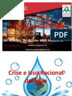 Crise e Uso Racional Da Água