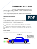 Car Aerodynamics Basics