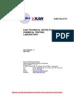 KAN TN LP 01 Chemical