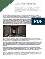 Presupuesto Limpieza En la villa de Madrid ONLINE