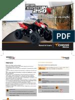 Manual Usuario Terrain 250X
