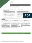SLII Goals Worksheet