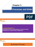 Chapter 5 - Business Processes and Risks
