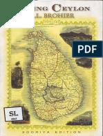 Seeing Ceylon - Brohier R. L