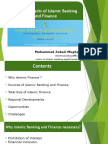 Global Scenario of Islamic Banking and Finance by Mr. Zubair Mughal