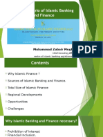 Global Scenario of Islamic Banking and Finance by Mr. Zubair Mughal