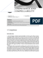 Competence Compellability