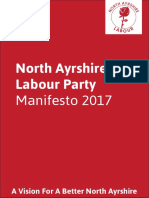 North Ayrshire Labour Party Manifesto 2017