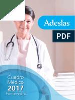 Cuadro Médico Adeslas 2017