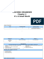 English KSSM Form 1 Teaching Organizer Chapter 2